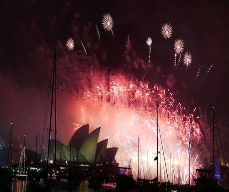 Here's where the greatest New Year's Event celebrations were globally