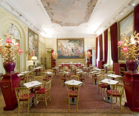 9 of the best their tea rooms in Paris, france