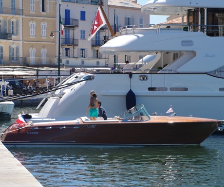 A weekend on a superyacht in St Tropez
